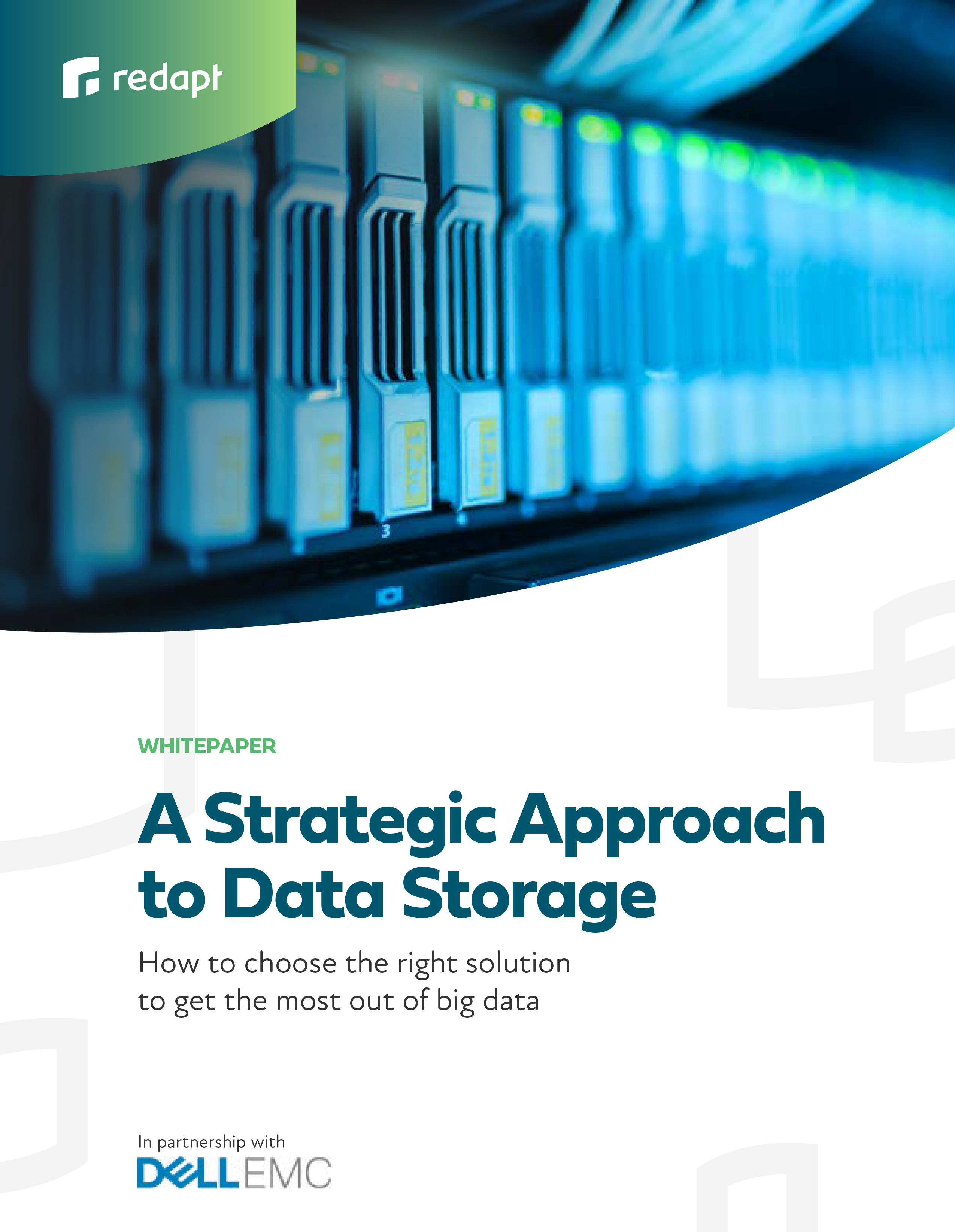 data storage white paper cover